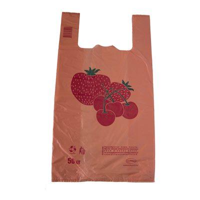 Пакеты Клубника оранжевая, цена за 1шт