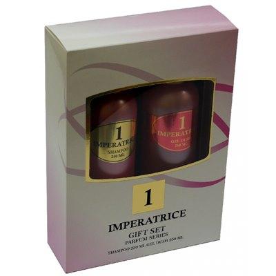 Набор подароч жен Imperatrica (шамп 250мл+гель 250мл)