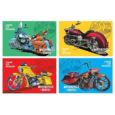 Альбом 12л А4 БиДжи 100г/м Moto exotic 7261