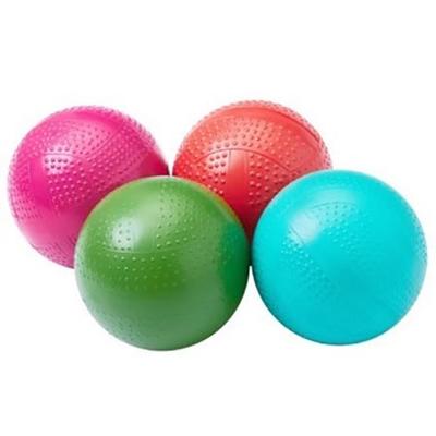 Мяч резиновый d=10см Фактурный, накачанный Р2-100