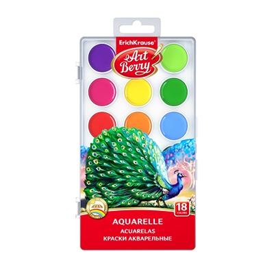 Краски 18цв акварель Artberry без кисти 41725