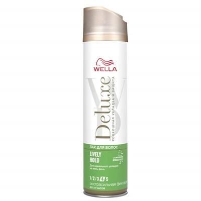 Лак для волос Велла Делюкс LIVELY HOLD 250мл