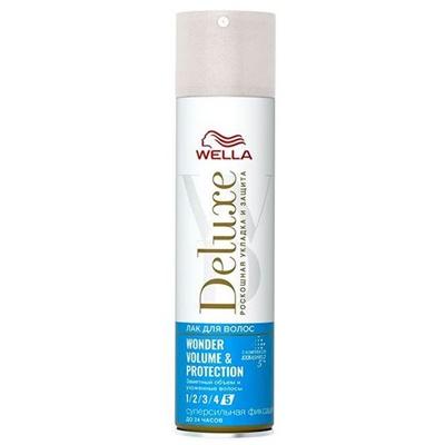 Лак для волос Велла Делюкс WONDER VOLUME & PROTECTION 250мл