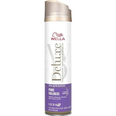 Лак для волос Велла Делюкс PURE FULLNESS 250мл