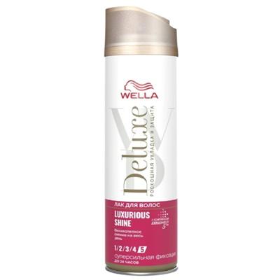 Лак для волос Велла Делюкс LUXURIOUS SHINE 250мл