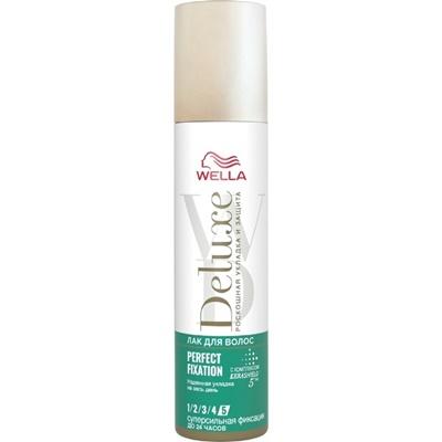 Лак для волос Велла Делюкс PERFECT FIXATION 250мл