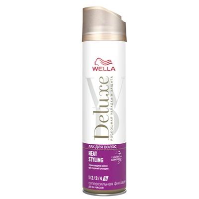 Лак для волос Велла Делюкс HEAT STYLING 250мл