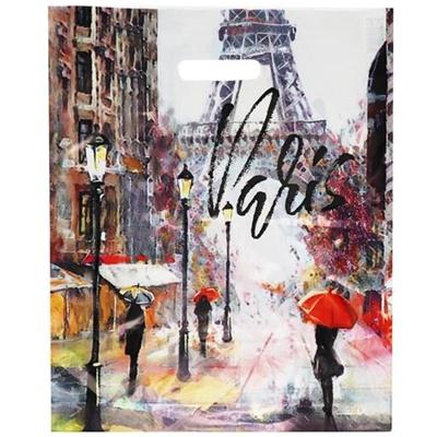 Пакет с выруб руч 38*45 Артпл Дождь в Париже ВУР 05695