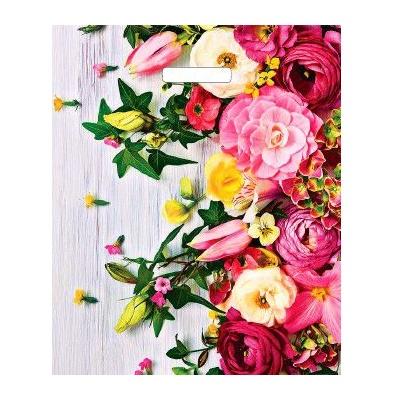 Пакет с выруб руч 38*45 Артпл Нежные цветы ВУР 22281