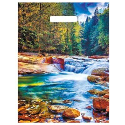 Пакет с выруб руч 31*40 Тико Живописный водопад ВУР 49584
