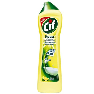 Крем для чистки Сиф 500мл Актив Лимон
