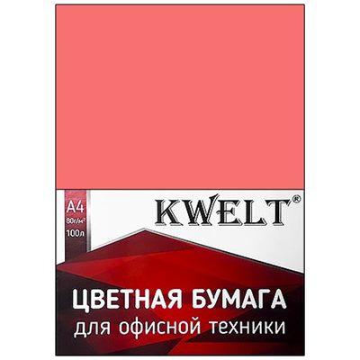 Бумага офисная KWELT А4 100л 5 цветов 80г/м2 К-00202