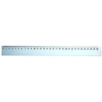 Линейка пластик 30см Uniplast прозр 0220869