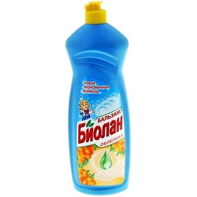 Жидкость для посуды Биолан 900мл Бальзам Облепиха