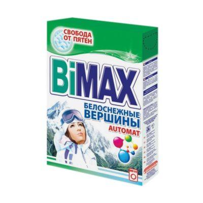 Порошок автомат Бимакс BiMax 400г Белоснежные Вершины