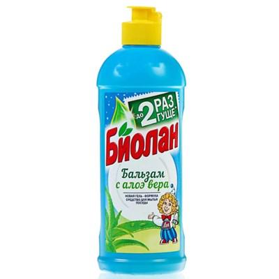 Жидкость для посуды Биолан 900мл Бальзам с Алоэ Вера