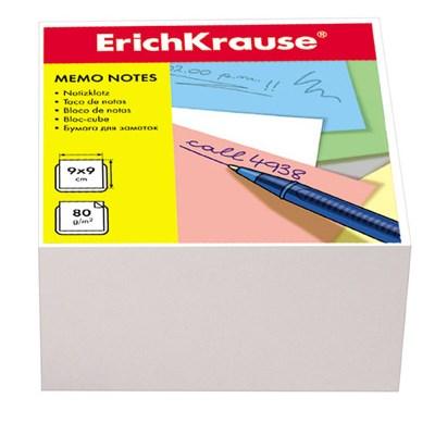 Блок бумаги Erich Krause 9*9*5см белый 80г/м2 2717