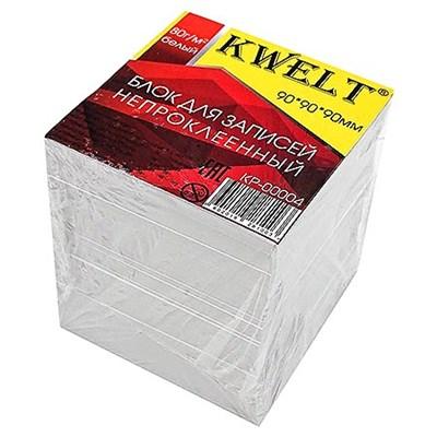 Блок бумаги KWELT 9*9*9 см белый 80г/м2 К-00004