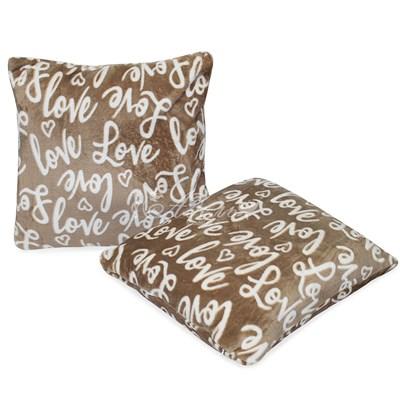Набор подушек Любовь файбер велсофт 50*50 (2шт)