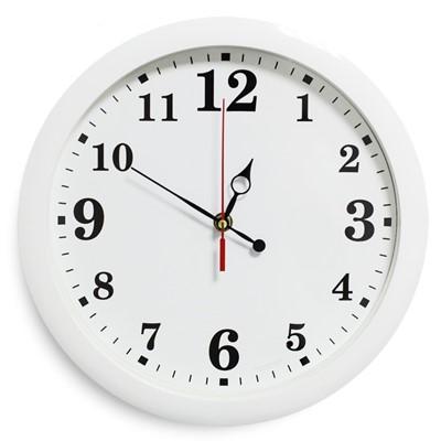 Часы настенные Классика белые 28 см 2436411/2436372