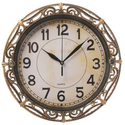 Часы настенные Классика Джина бронза 30 см 2586588