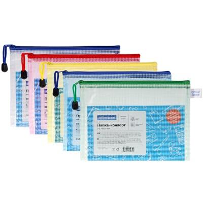 Папка-конверт А5 на молнии OfficeSpace 285837