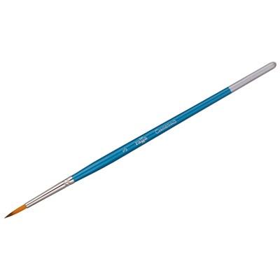 Кисточка для рисования Гамма №03 синтетика круглая