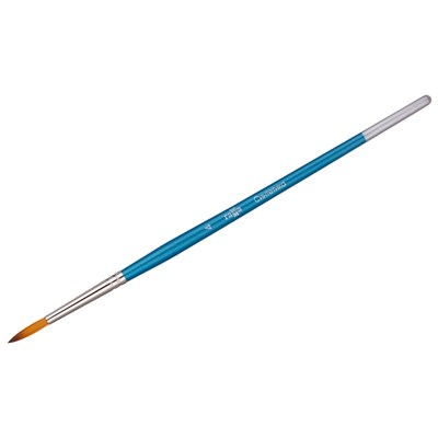 Кисточка для рисования Гамма №04 синтетика круглая