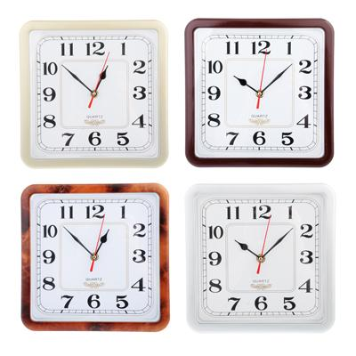 Часы настенные Квадратные 23*23см 581-497