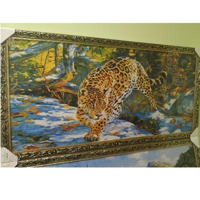 Картина гобеленовая с рамкой 60*120см №1