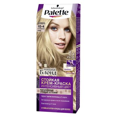 Краска для волос Palette 10-4 Натуральный блонд