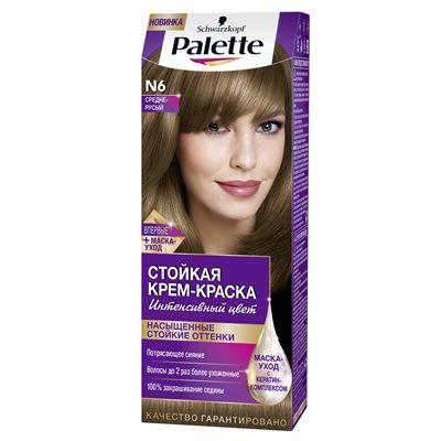 Краска для волос Palette N6 Средне-русый