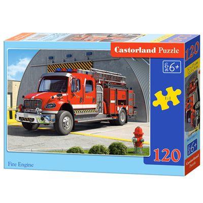 Пазлы 120 эл-в Castor Land Midi 32*23см Пожарная В6-12527