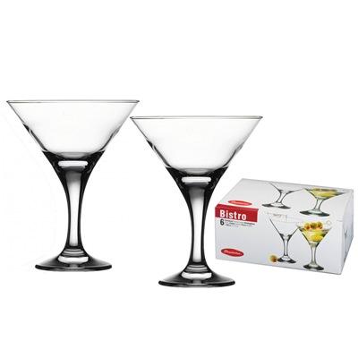 Бокал для мартини 170мл Бистро 44410 набор 6шт