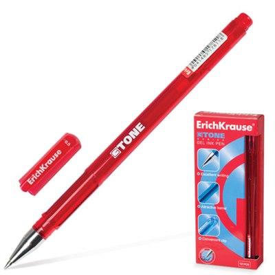 Ручка гелевая красная Erich Krause G-Tone 0,5мм 17811 по 12шт