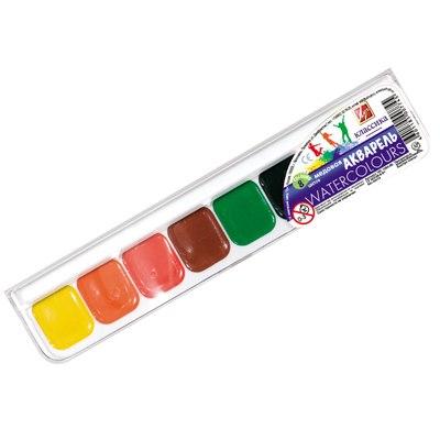 Краски 8цв акварель Луч в пластике 19С1284-08