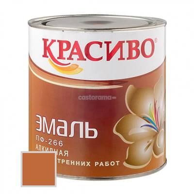 Краска ПФ-266 Красиво желто-коричневая 2,7л для пола