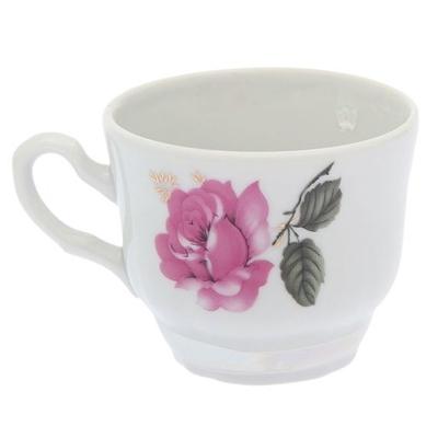 Чашка кофейная 120 ф.739 Букет цветов 6с2497