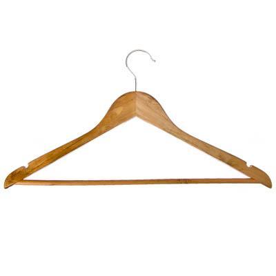Вешалка плечики для одежды Деревянные 45см 455-039