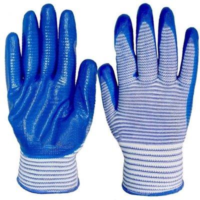Перчатки стрейч полосатая по 12 пар