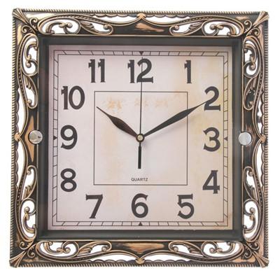 Часы настенные Классика ажур рама 30 см 2586589