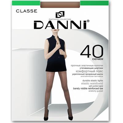 Колготки 40д Данни Classe №5 черный