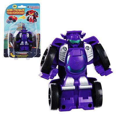 Робот трансформирующийся, пластик 7*7*4см 296-051