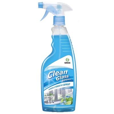 Жидкость для стекол Clean Glass 600мл с расп. Голуб лагуна