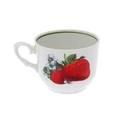 Чашка чайная 250мм ф. 397 Клубника 1с0116