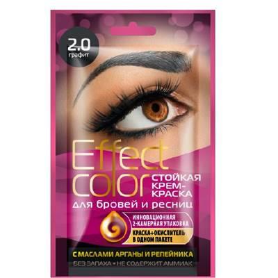 Крем-краска для бровей и ресниц Effect Color 3мл Графит