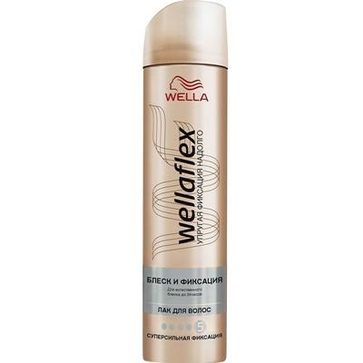 Лак для волос Веллафлекс 250мл №5 блеск суперсильн фикс