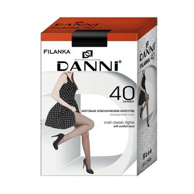 Колготки 40д Данни Filanka Макси №7 черный