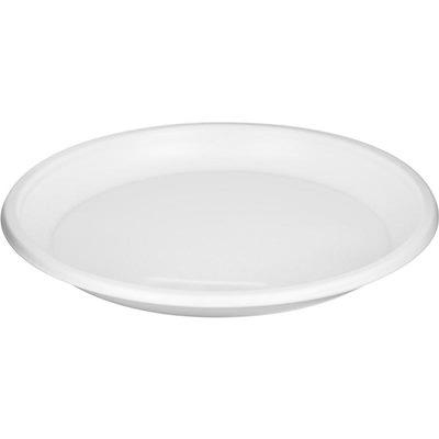 Тарелки однораз пласт средн 165мм (100шт/уп) цена за уп-ку