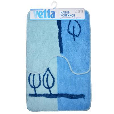 Набор ковриков 2шт для туалета, акрил 50*80+50*50см 462-651